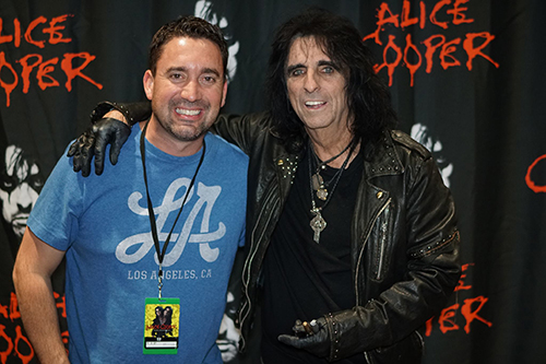 Jaymz and Alice Cooper